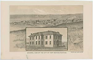 General View of the City of Fort Benton, Montana. / Fort Benton, Montana.