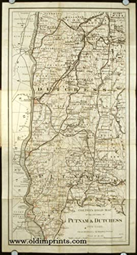Colton's Road Map of Putnam and Dutchess Co's. New York. Map title: Colton's Road Map of the Coun...