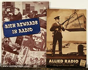Allied Radio. Spring and Summer 1942. / Rich Rewards in Radio. TWO BOOKLETS.