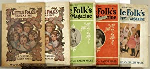 Little Folks Magazine. FIVE ISSUES FROM 1913.