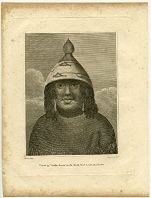 Woman of Nootka Sound, on the North West Coast of America.