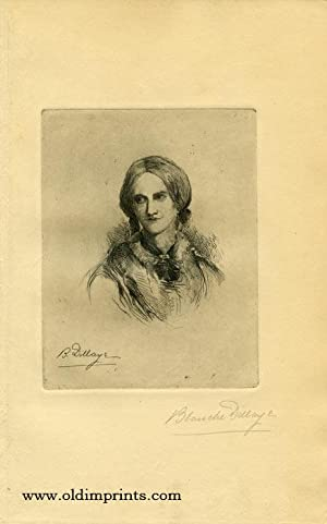 Portrait of Charlotte Bronte.