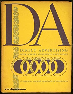 Direct Advertising. A Catalog of Mill Brand Papers. Cover title: DA. Direct Advertising Associati...