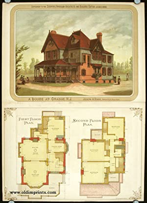 A House at Orange, N.J.: AMERICAN VICTORIAN ARCHITECTURE