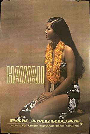 Hawaii. Pan American. World's Most Experienced Airline.
