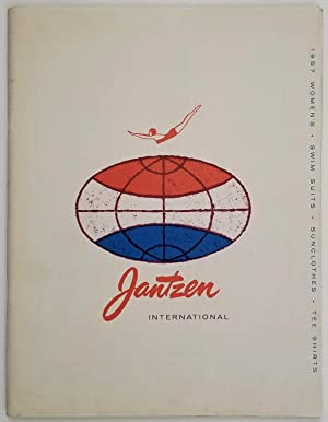 Jantzen International. 1957 Women's Swim Suits - Sunclothes - Tee Shirts.