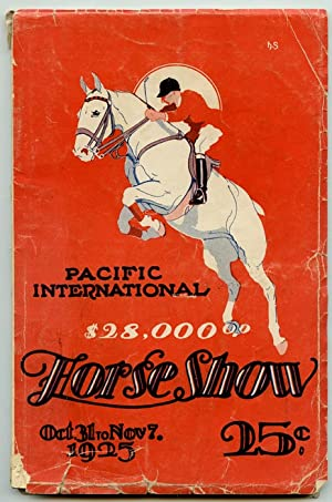 Official Program Seventh Annual Pacific International Horse: OREGON - PORTLAND