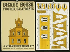 Dickey House: Tiburon, California. A Mini-Mansions Model Kit three-dimensional, quarter-inch scal...