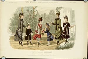 Latest Paris Fashions. Supplement - The Queen,: 1870s FASHION)