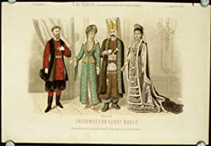 Costumes for Fancy Balls. Supplement - The: 1870s FASHION -