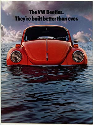 The VW Beetles. They're built better than ever.