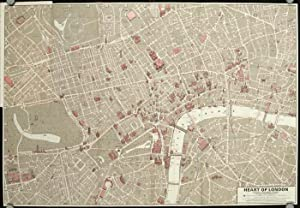 Francis Chichester's Heart of London Map. 13: ENGLAND - LONDON)