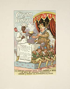 Cream of Wheat. 1902 Color Advertisement.