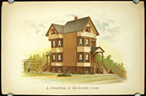 A Dwelling of Moderate Cost.: AMERICAN VICTORIAN ARCHITECTURE)