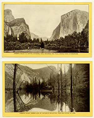 Yosemite Valley. Nine Views of Yosemite National Park.