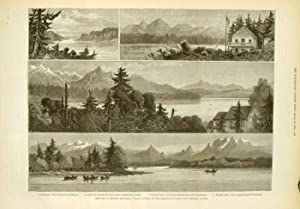Sketches in British Columbia: Places Visited by the Marquis of Lorne and Princess Louise.