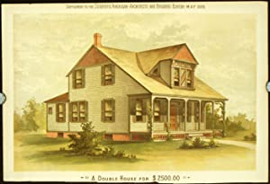 A Double House for $2500.00.: AMERICAN VICTORIAN ARCHITECTURE