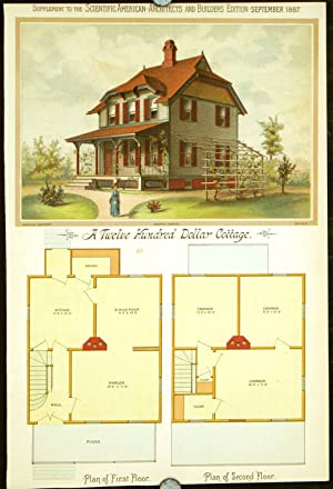 A Twelve Hundred Dollar Cottage.: AMERICAN VICTORIAN ARCHITECTURE
