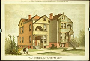 Two Dwellings of Moderate Cost.: AMERICAN VICTORIAN ARCHITECTURE