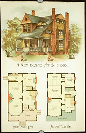 A Residence for $3,800.: AMERICAN VICTORIAN ARCHITECTURE