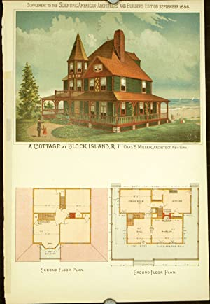 A Cottage at Block Island, R.I. Chas.: AMERICAN VICTORIAN ARCHITECTURE