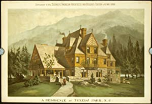 A Residence at Tuxedo Park, N. J.: AMERICAN VICTORIAN ARCHITECTURE