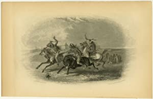 [ Horse Racing of the Sioux ].