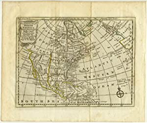 An Accurate Map of North America, Drawn from the best Modern Maps and Charts and regulated by Ast...