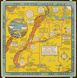 A Hysterical Map of the Grand Coulee: WASHINGTON STATE) Lindgren,