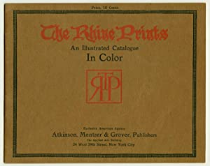 The Rhine Prints. An Illustrated Catalogue In Color.