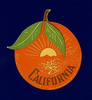 California. LUGGAGE LABEL.: CALIFORNIA)
