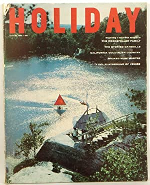 Holiday Magazine. 1958 - 08 (August).: ROCKERFELLER / MONACO)