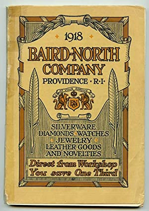 1918 Baird-North Company Providence, R. I. Silverware, Diamonds, Watches, Jewelry, Leather Goods ...