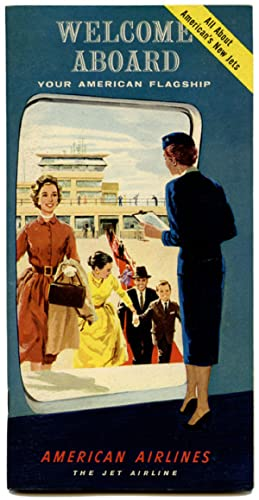 Welcome Aboard Your American Flagship. (American Airlines travel pack).
