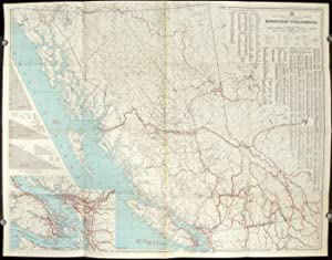 British Columbia. Commercial Map. Map No. IJ.