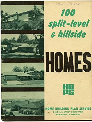 100 split-level & hillside Homes.