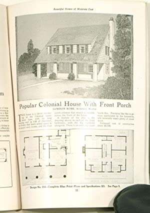1920s house plans abebooks for Moderate house plans