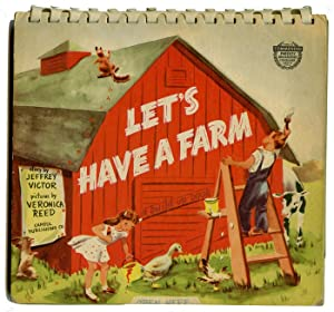 Let's Have a Farm. A Build-Up Book.