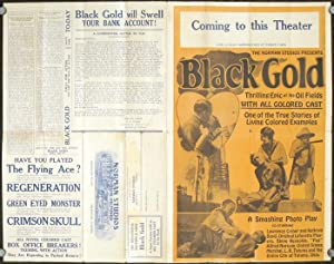 Black Gold. A Super Feature with an ALL COLORED CAST in Six Reels.