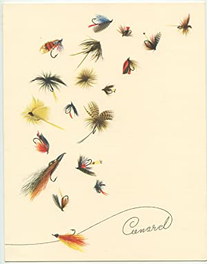 Cunard Menu (Fly Fishing).