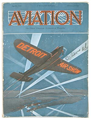 Aviation. The Oldest American Aeronautical Magazine.