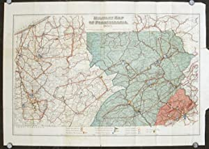Military Map of Pennsylvania.