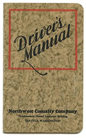 1930s Driver's Manual.