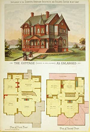 The Cottage (Shown in April Number) As: AMERICAN VICTORIAN ARCHITECTURE