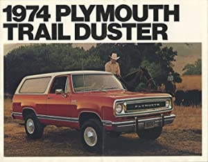 1974 Plymouth Trail Duster.