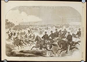 The Union Cavalry and Artillery starting in Pursuit of Rebels up the Yorktown Turnpike.