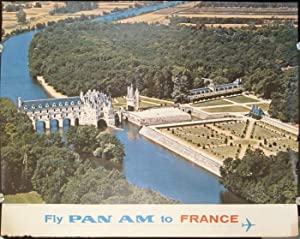 Fly Pan Am to France.