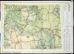 1959 Wyoming Highway Map.