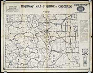 Highway Map and Guide of Colorado
