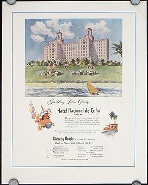 Hotel Nacional de Cuba.: CUBA)